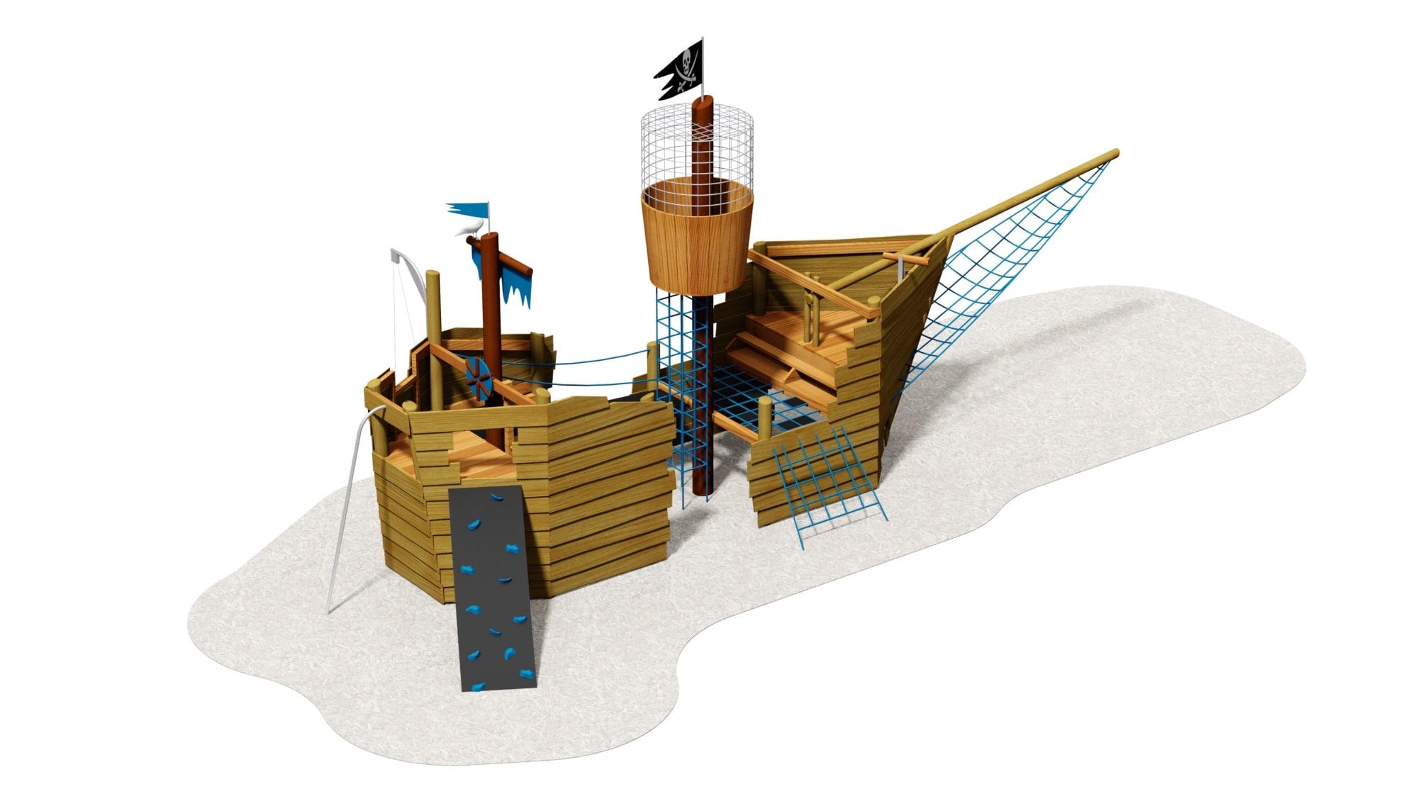 Piratenschiff Spiele